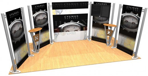 Flexible Exhibition Stands : Flexible double wing m exhibition stand dimensions studio