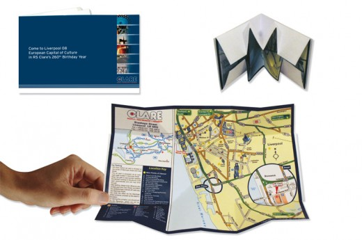 Fold Out Maps Point Of Sale Dimensions Studio Design